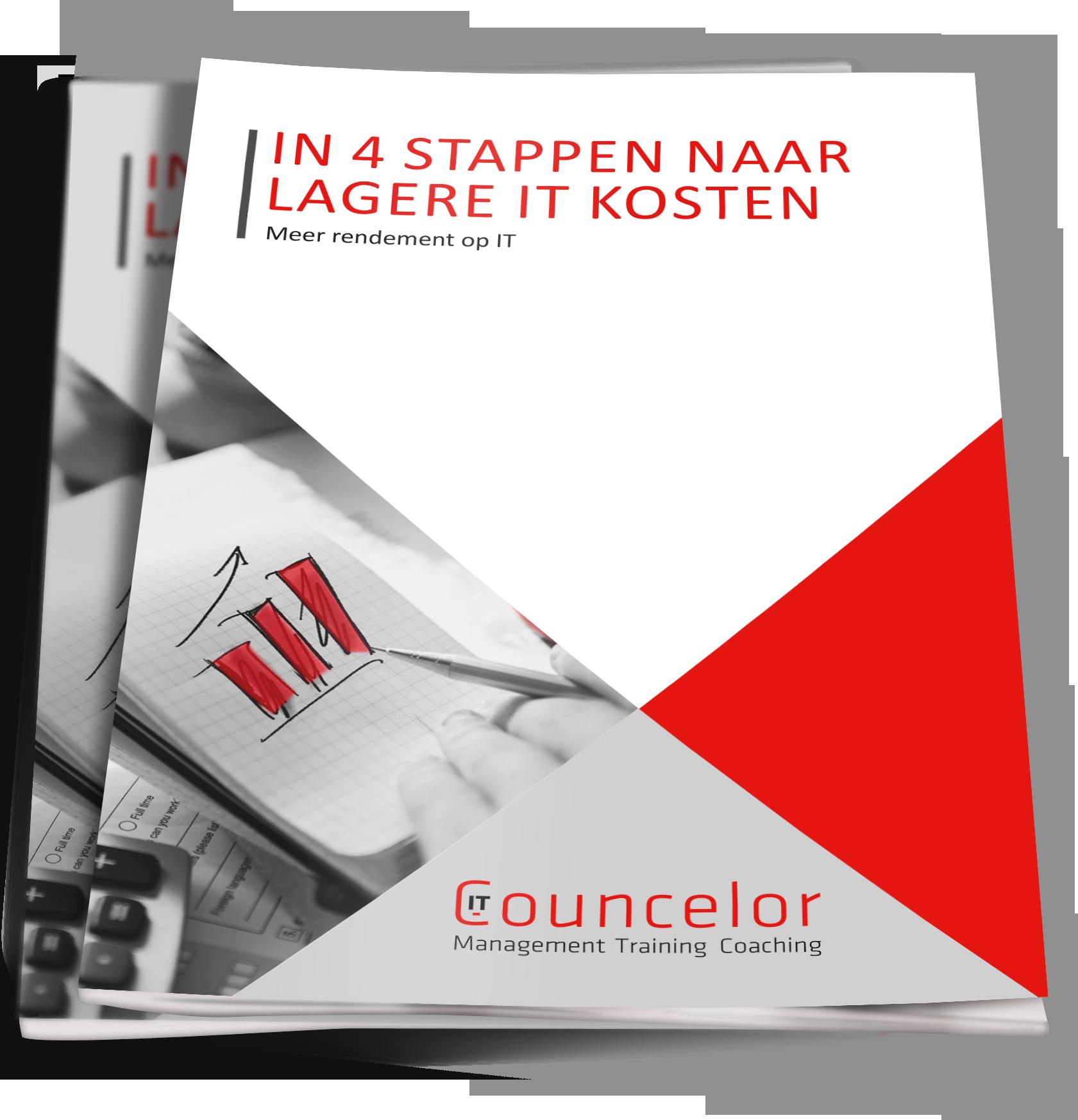 Cover-In 4 stappen naar lagere IT Kosten-def
